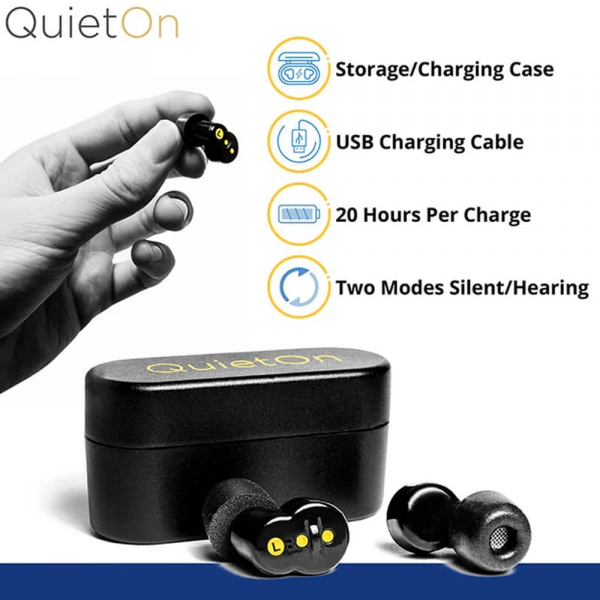 QuietOn Snore Cancelling Earbuds